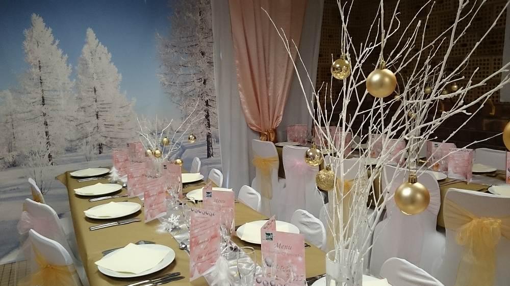Decor evenementiel noel noel entreprises paris et ile for Decoration fete de fin d annee